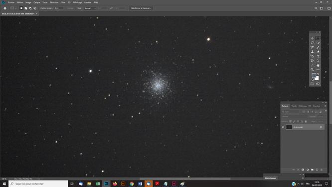 Traitement photoshop photo astro Retrouver une balance des couleurs avec le filtre IDAS D1