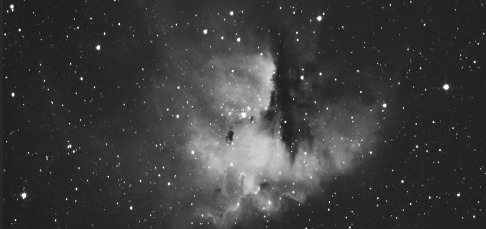 contraste entre l'objet et le fond de ciel astrophotographie