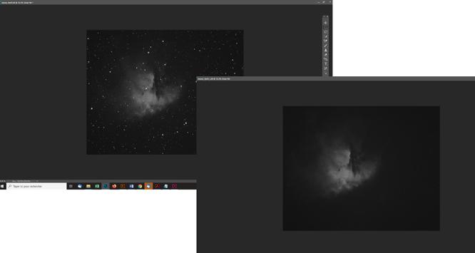 Tutoriel photoshop pour astrophotographie Créer rapidement un masque d'étoiles avec Starnet+