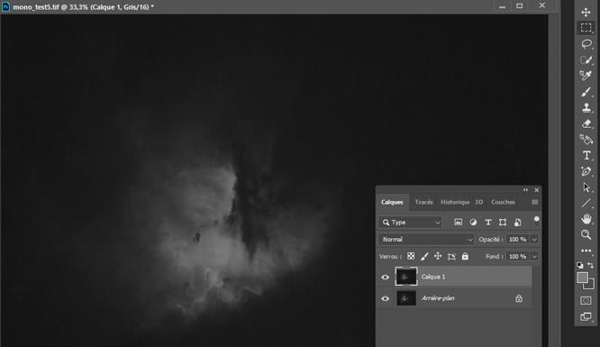 Traitement sous photoshop tuto astrophoto Créer rapidement un masque d'étoiles avec Starnet+