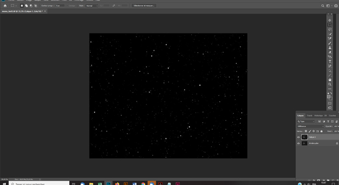 Tutoriel astrophotographie Créer rapidement un masque d'étoiles avec Starnet+