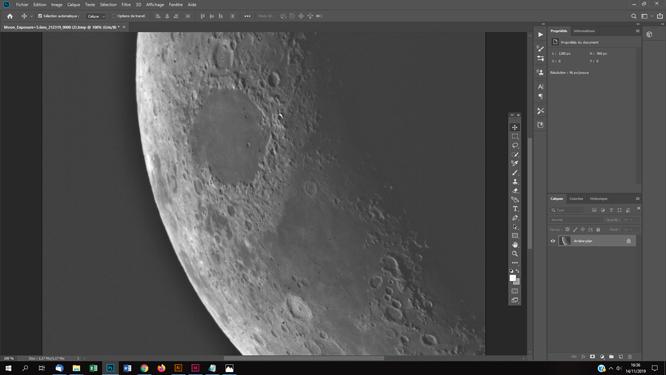 Techniques photoshop astrophoto effet anaglyphe sur des photos astro lune planète objets du ciel profond