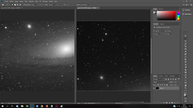 Homogénéiser la tonalité et les couleurs de photos astro pour une mosaique par exemple