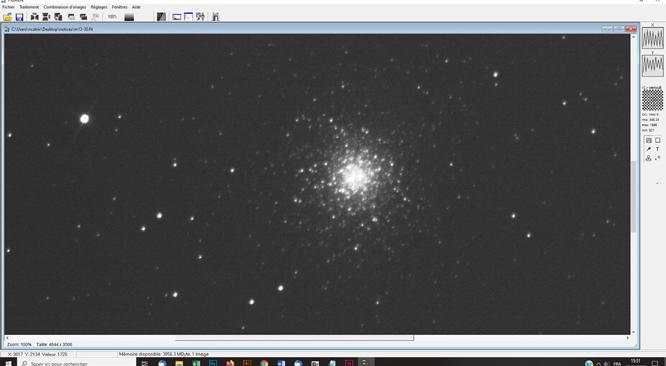 Tutoriel astrophotographie sur photoshop : Convertir un fichier .FIT couleurs en .TIF exploitable