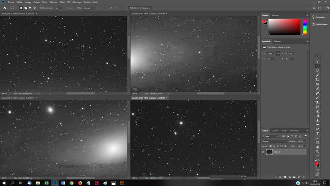 Créer et assembler des photos astro pour créer une mosaique sous Photoshop