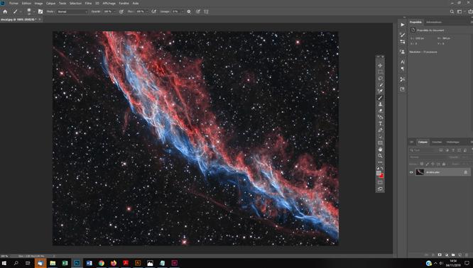 Similation 3D d'un objet du ciel profond avec Facebook tuto astrophoto photoshop