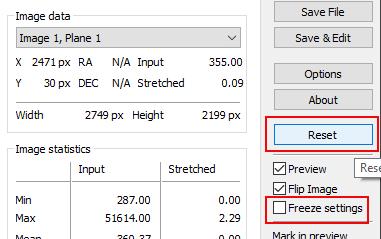 stretcher un fichier .fits en .tif exploitable sous photoshop astro