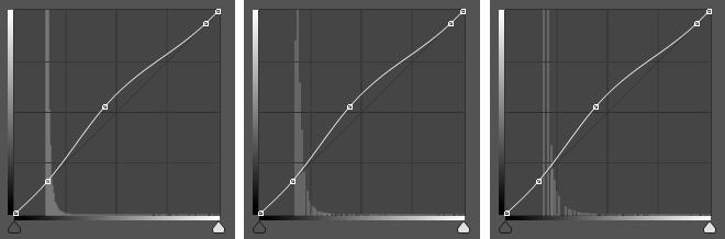 stretcher avec les courbes une photo astro