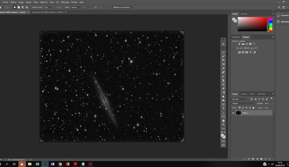 comment supprimer un gradient sur une photo astro ?