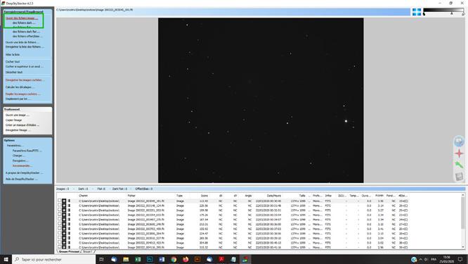 Techniques photoshop astrophoto traitement d'une comète sous DSS et photoshop pour photo astro